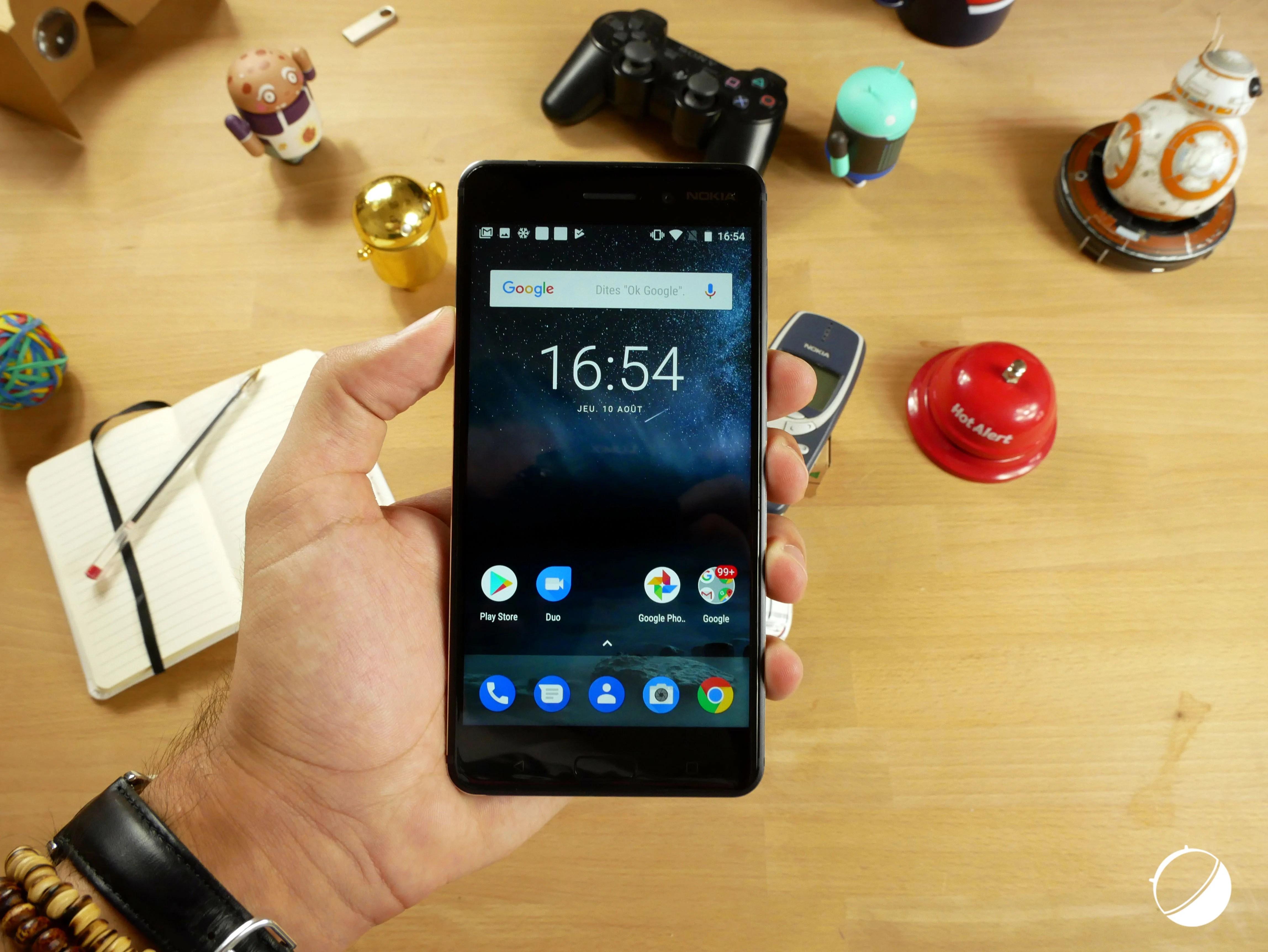 Android 8.0 Oreo pour Nokia 6 est «au coin de la rue»