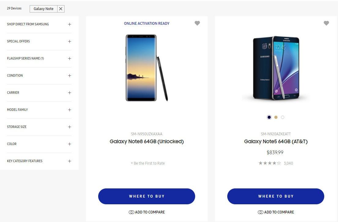 Tech'spresso : Samsung leak par accident le Galaxy Note 8 et Google supprime les watermarks et pourrait ne plus être une marque