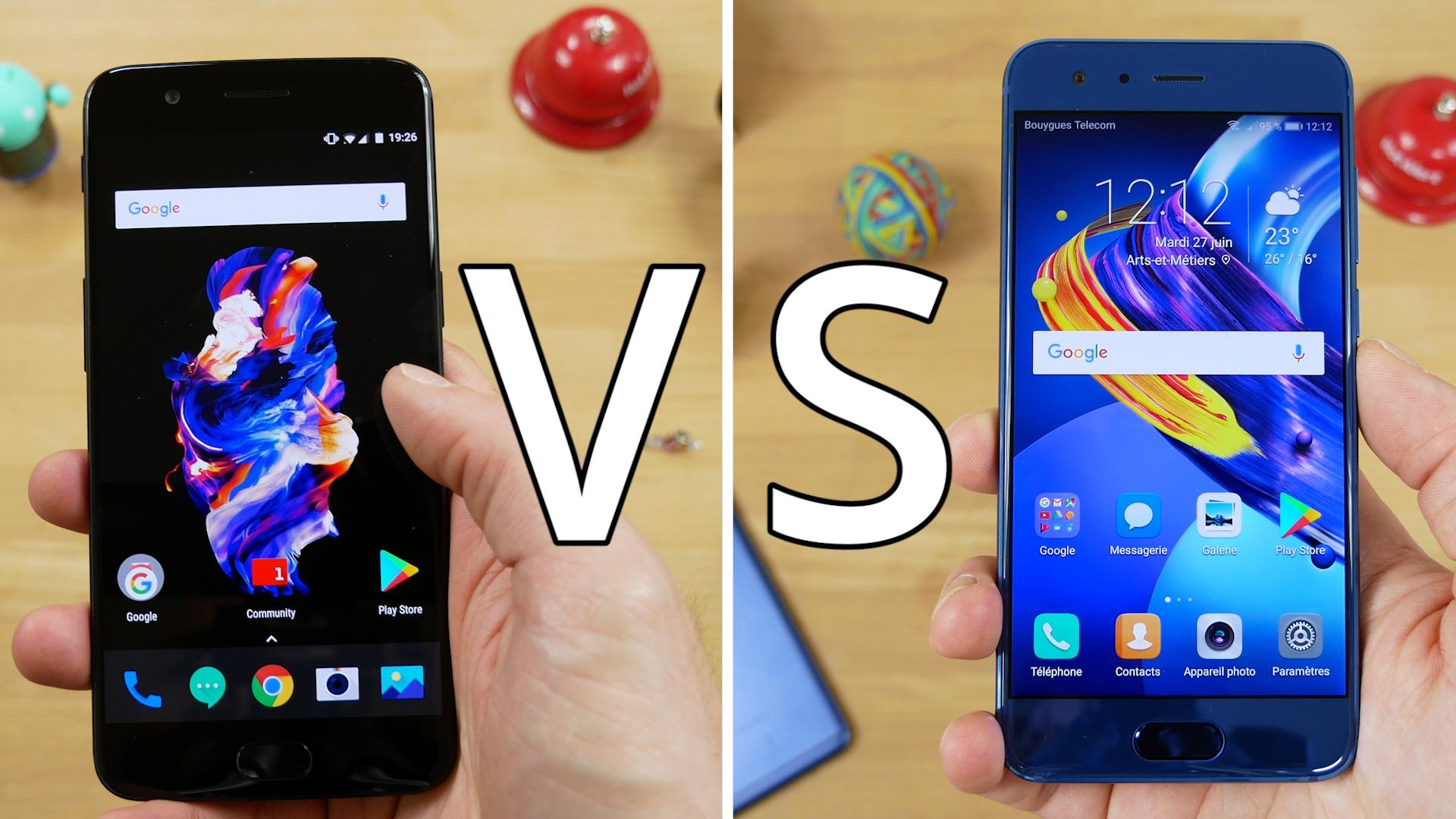 Vidéo : Honor 9 vs OnePlus 5, lequel choisir ?