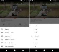 YouTube: l'application mobile permettra bientôt de contrôler la vitesse des vidéos