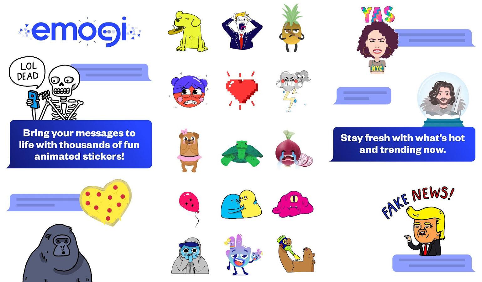 Contre les Animojis d'Apple, Google a les Emogi… mais c'est bien moins impressionnant