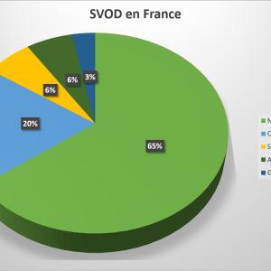 Netflix est le service de streaming vidéo le plus utilisé en France, avec 63 % du temps de visionnage