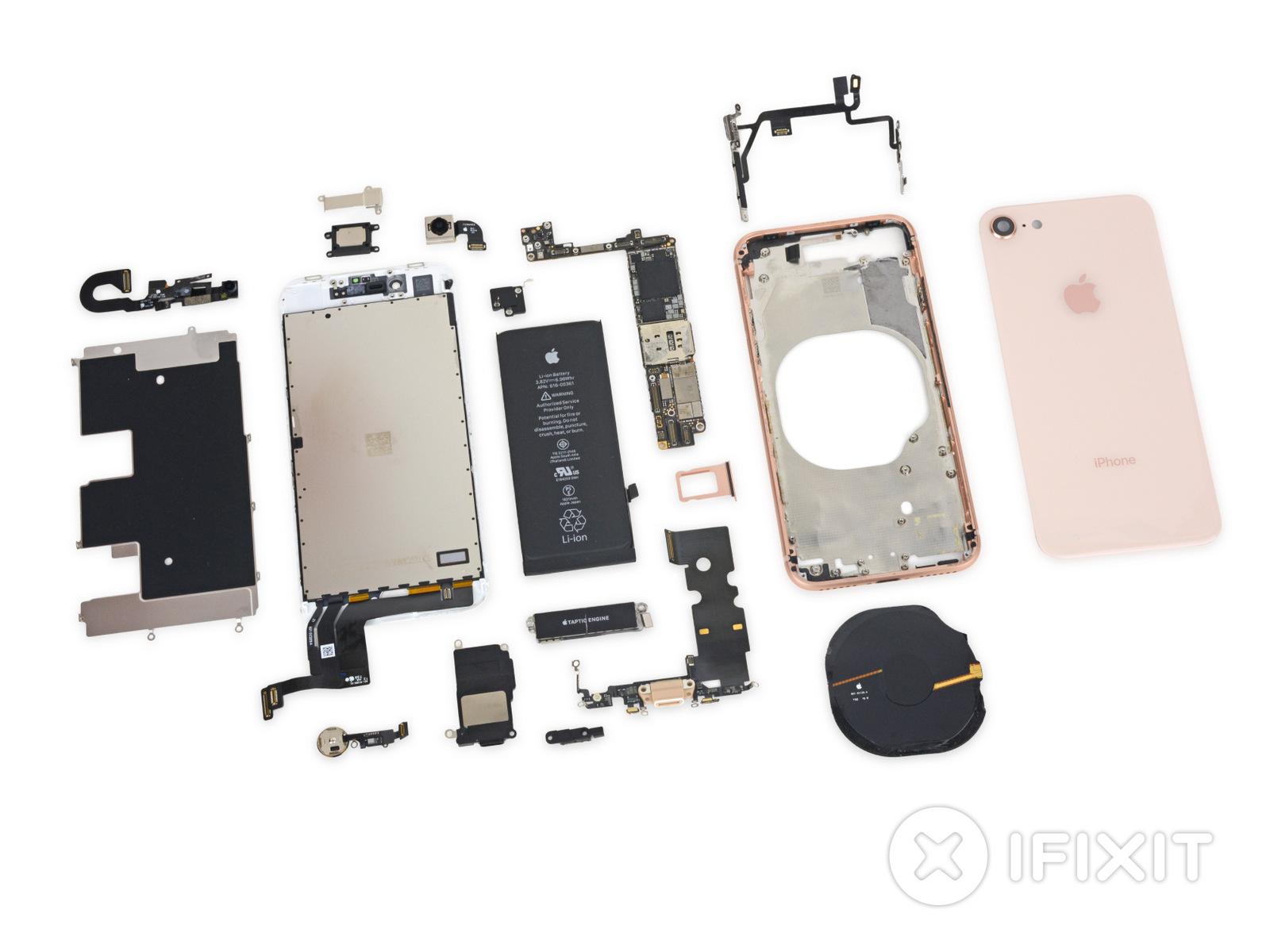 4 choses que l'on apprend sur l'iPhone 8 après son démontage