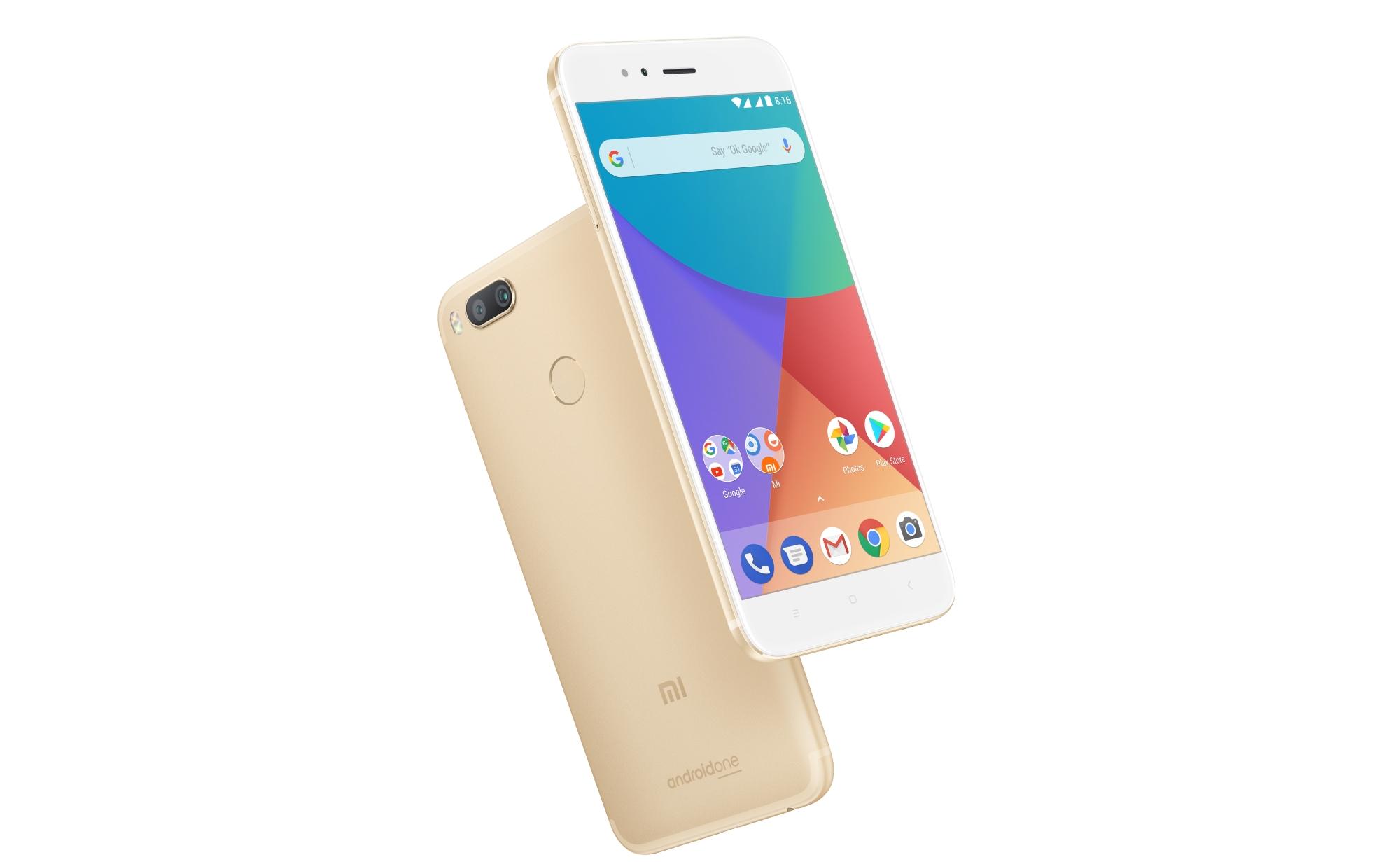 Xiaomi Mi A1 : la version internationale mieux équipée en 4G