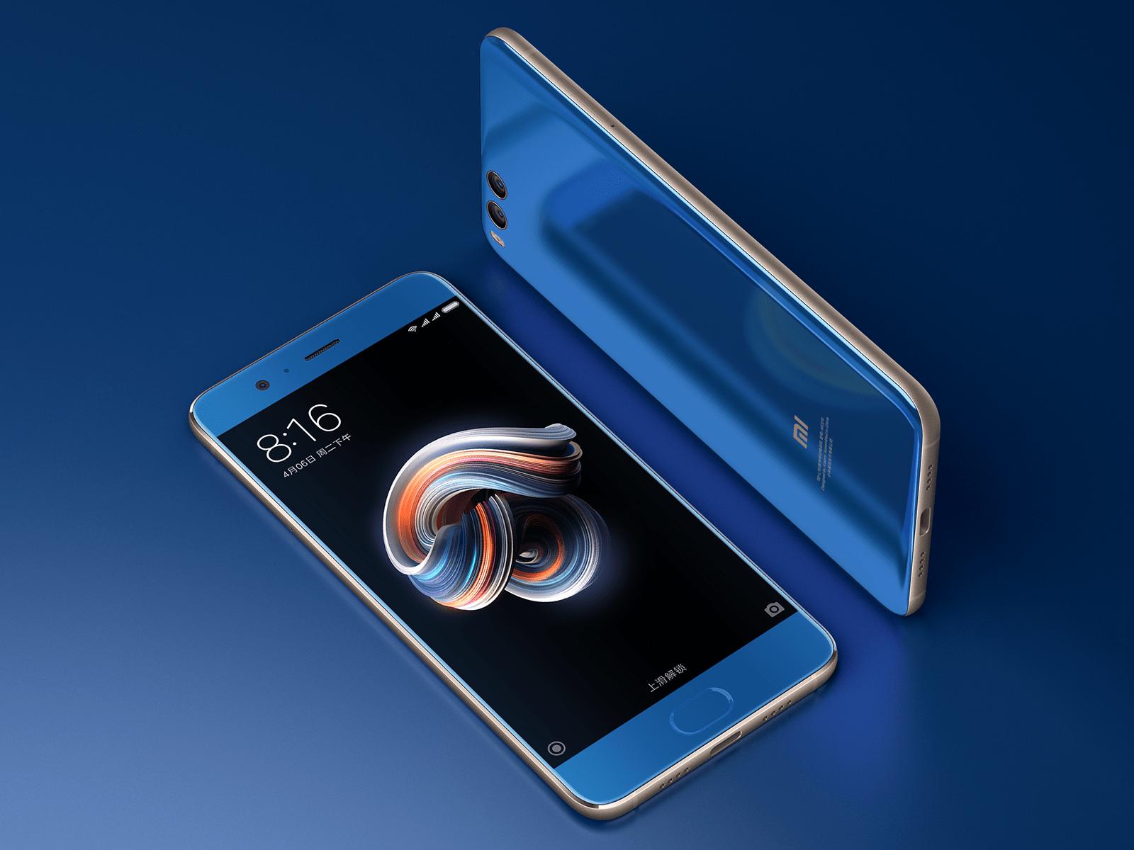Le Xiaomi Mi Note 3 est disponible en précommande chez GearBest à 383,50 euros