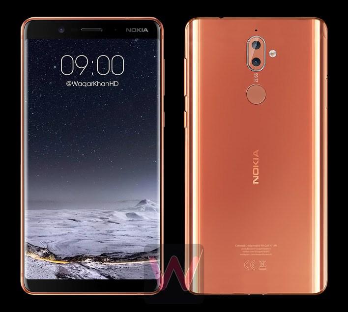 Un dessin crédible du Nokia 9 apparaît sur le Web