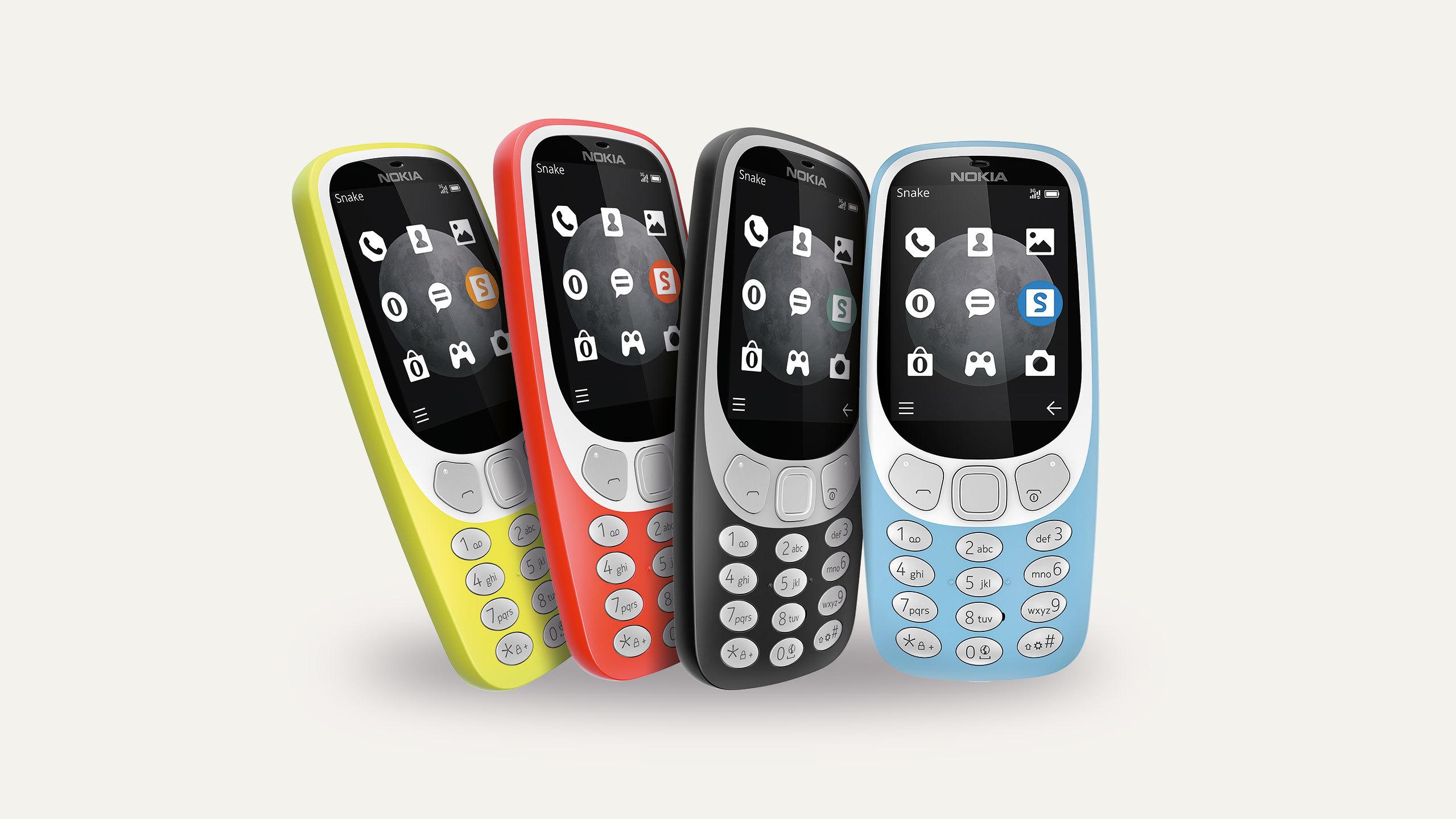 Le Nokia 3310 passe à la 3G sans changer de prix