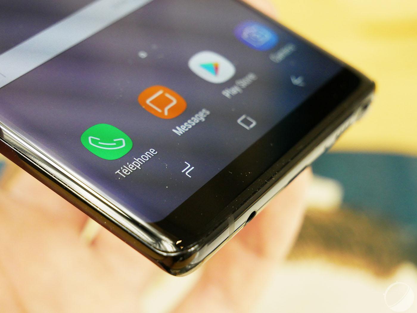 Galaxy Note 8 : ce bug gênant que nous avons rencontré