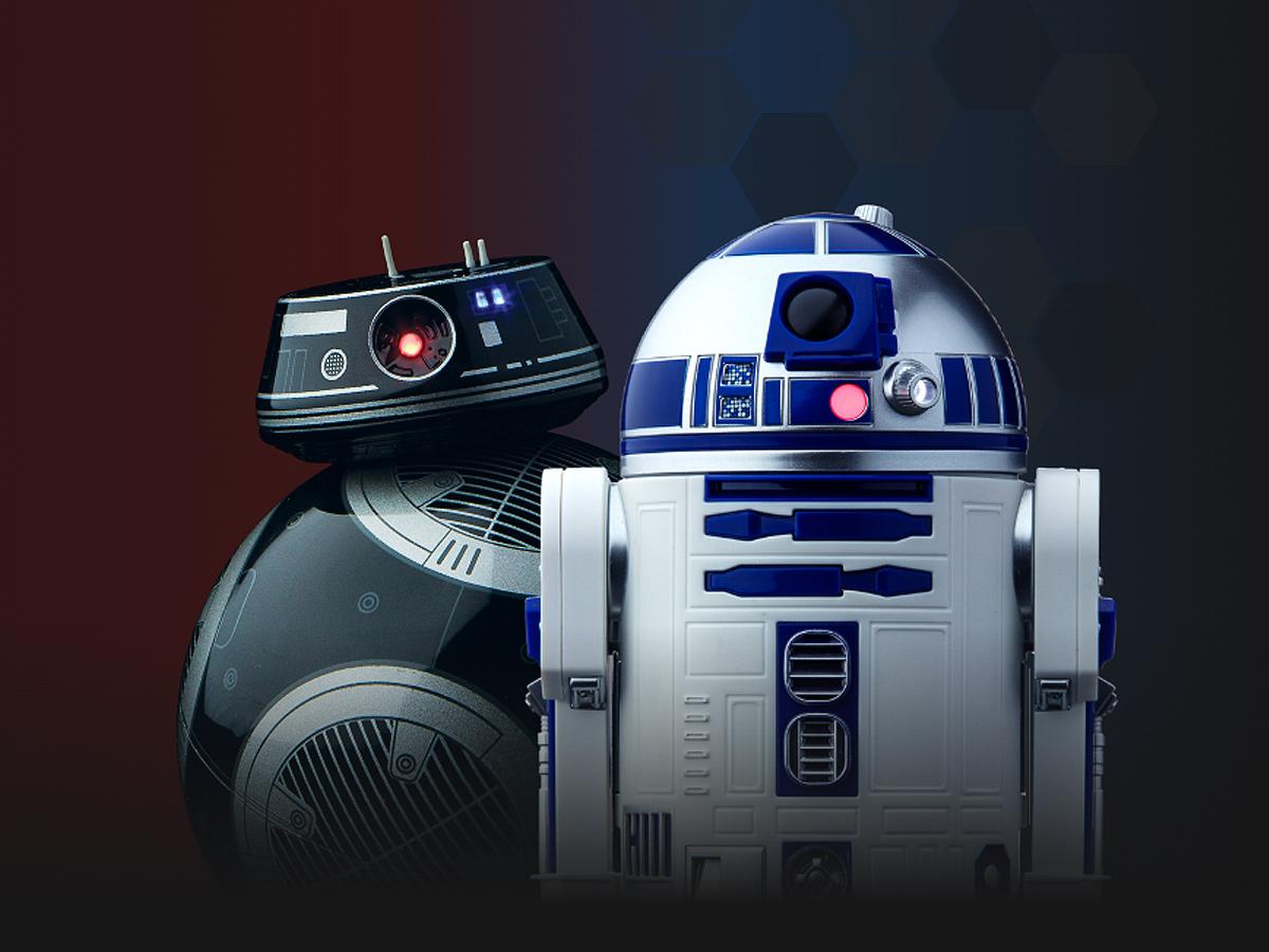 Sphero R2-D2 et BB-9E : voici deux nouveaux robots connectés