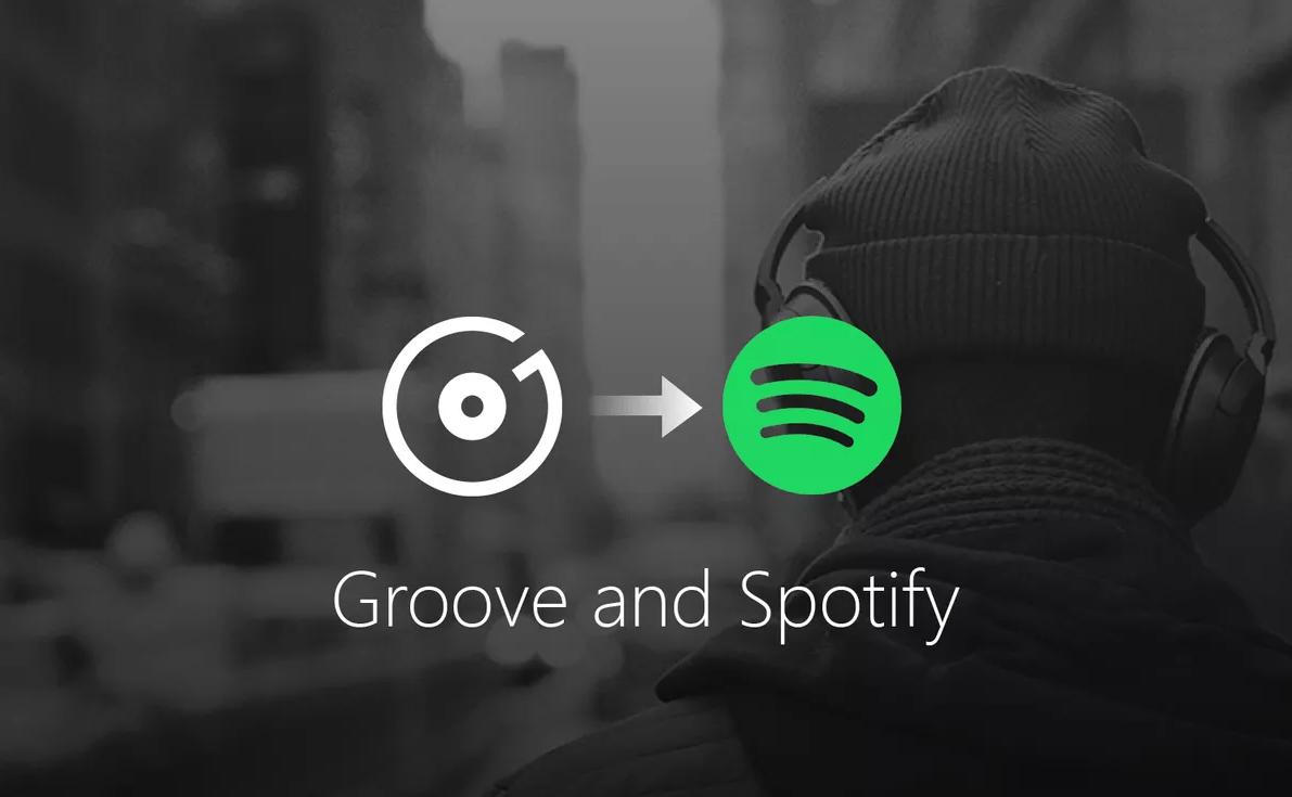 Fin de Microsoft Groove : un pas de plus vers la domination de Spotify