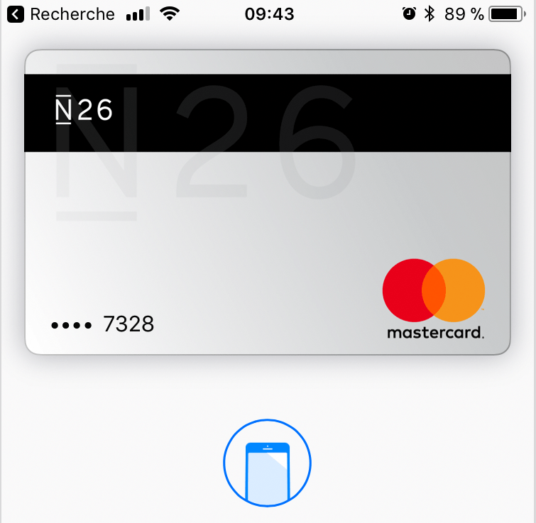 N26 adopte Apple Pay en France, toujours aucune trace d'Android Pay