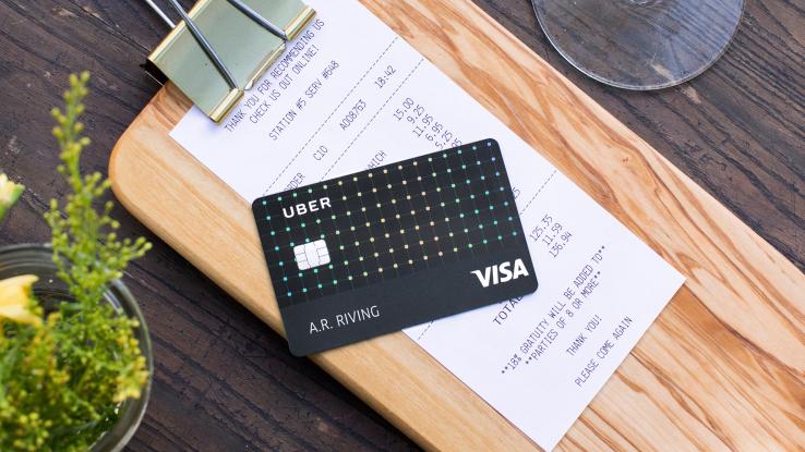 Uber lance sa propre carte de crédit pour mieux connaître ses clients