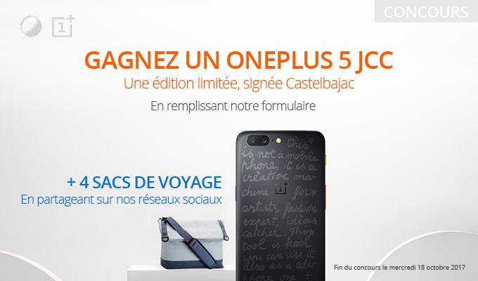 🔥 Concours : gagnez un OnePlus 5 collector édition Castelbajac !