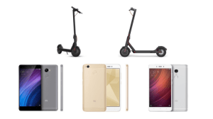 5 offres de la semaine sur GearBest : Xiaomi M365, Xiaomi Youth, Xiaomi Redmi 4, Xiaomi Redmi Note 4 et Redmi Note 4X