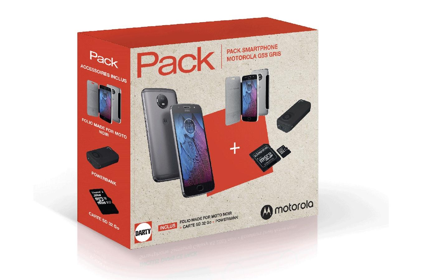 🔥 Bon plan : le pack Motorola G5S est à 219 euros au lieu de 309 euros