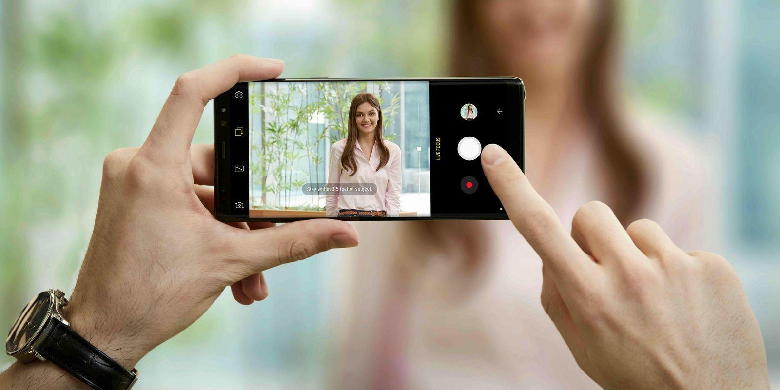 Le Samsung Galaxy Note 8 est le meilleur photophone sous Android, selon DxO