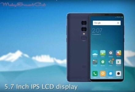 Xiaomi Redmi 5 Plus : une photo du borderless à tout petit prix