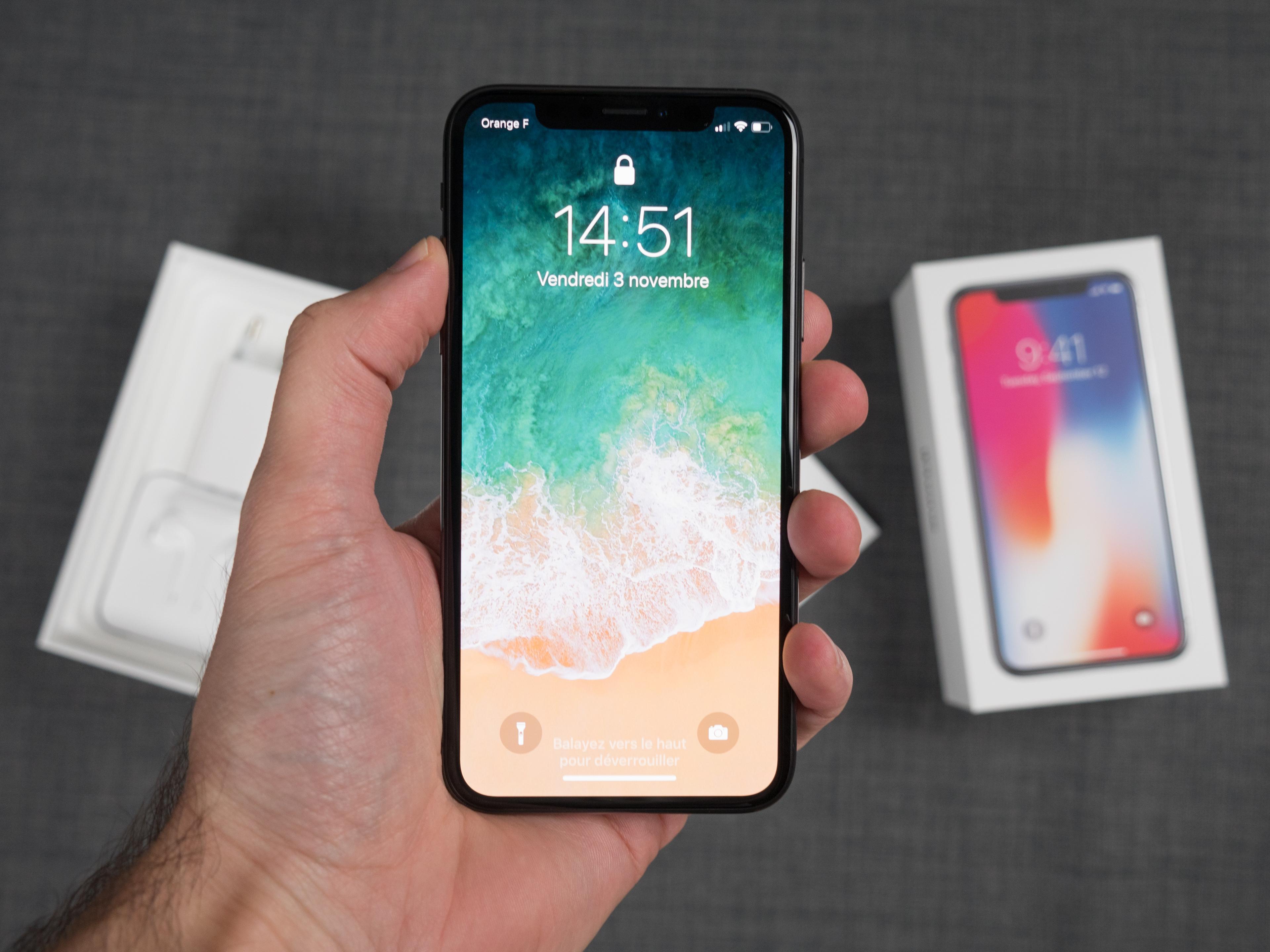 🔥 Bon plan : l'iPhone X est à 916 euros au lieu de 1159 euros avec ce code promo