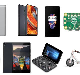 8 offres de la semaine sur GearBest : Xiaomi M365, Xiaomi Mi Mix 2, OnePlus 5, Xiaomi Redmi Note 4 etc