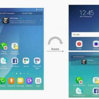 Samsung Galaxy X : un brevet détaille l'interface du possible smartphone pliable