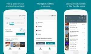 Files Go : Google veut vous aider à nettoyer votre smartphone et gérer vos fichiers