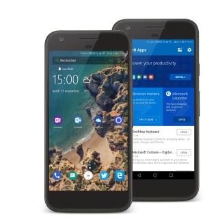 Voici à quoi ressemblerait un smartphone Microsoft sous Android