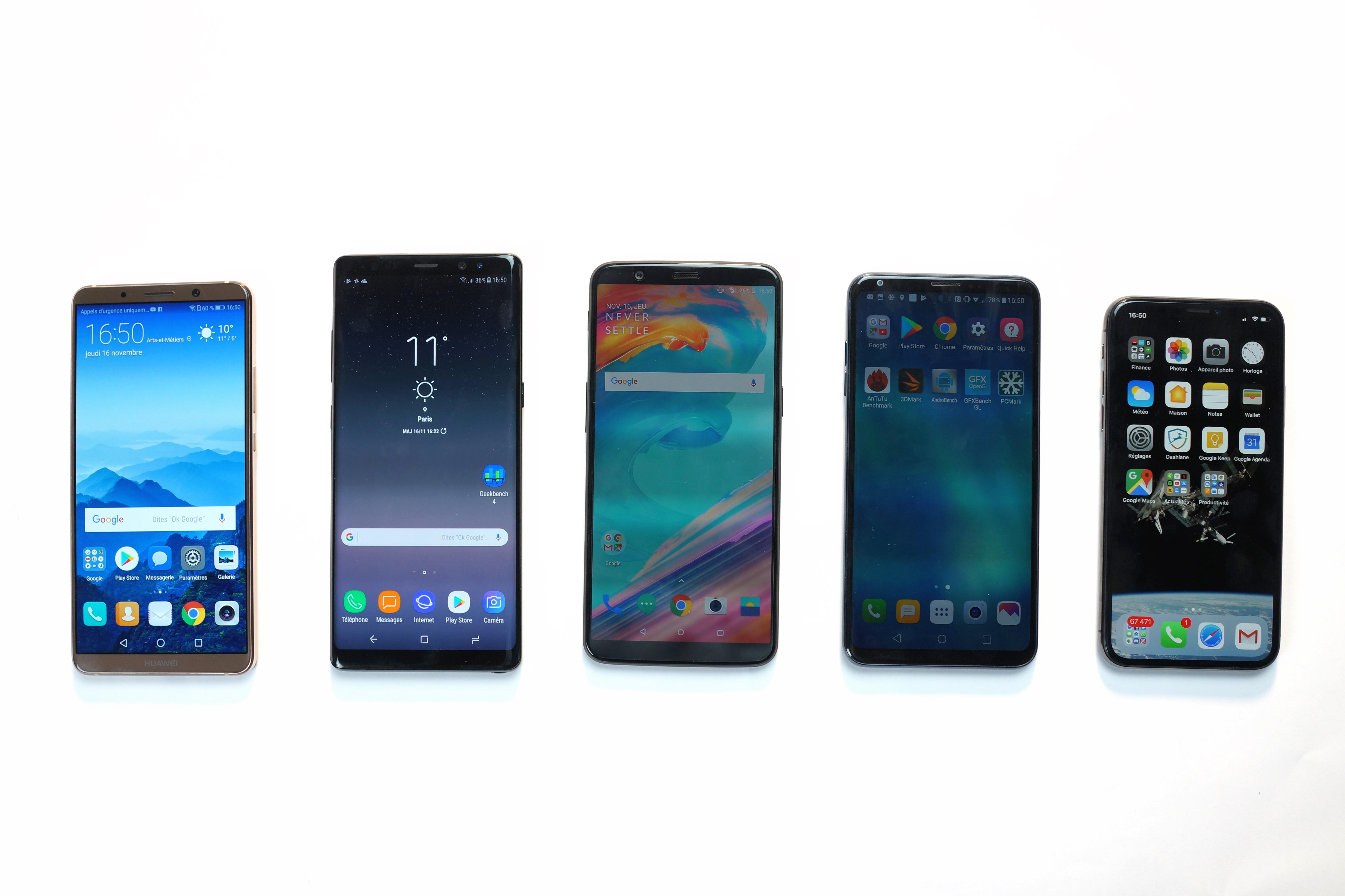 Essential, OnePlus, Samsung, HTC, Huawei : qui sont les perdants et les gagnants de 2017 ?
