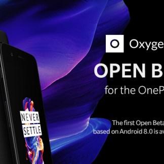 OnePlus 5 : Android 8.0 Oreo fait son apparition dans une beta ouverte
