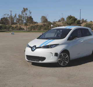 La voiture autonome de Renault fait aussi bien qu'un pilote d'essai