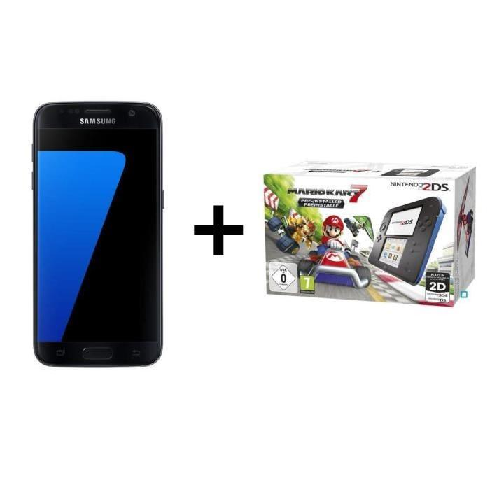 🔥 Black Friday : le pack Samsung Galaxy S7 + Nintendo 2DS + Mario Kart 7 à 349 euros
