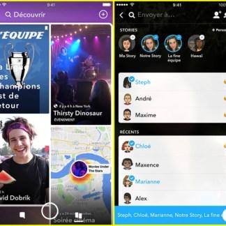 Snapchat : découvrez sa nouvelle interface simplifiée en cours de déploiement