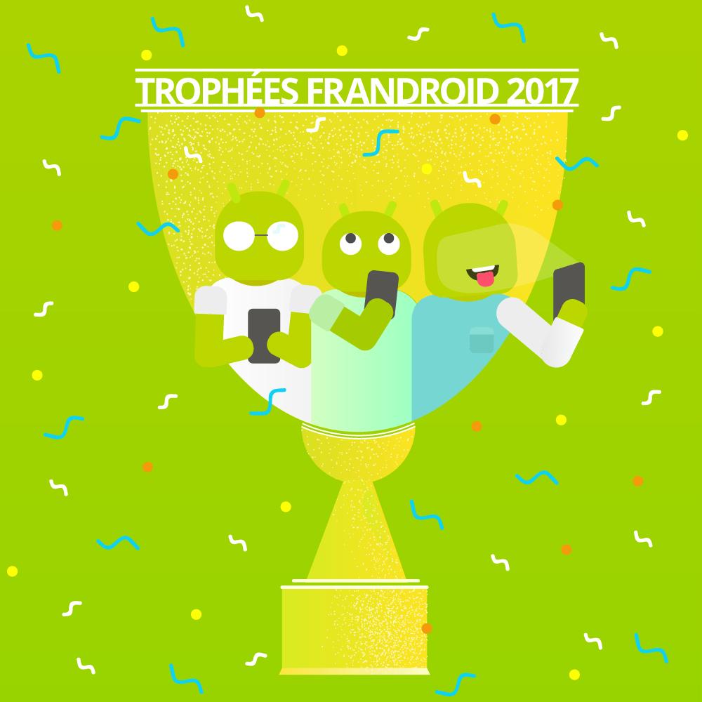 🔥 Trophées FrAndroid 2017 : départagez les meilleurs smartphones de l'année !