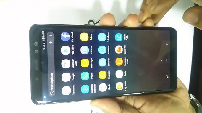 Le Samsung Galaxy A8+ (anciennement Galaxy A5 2018) dévoile ses configurations