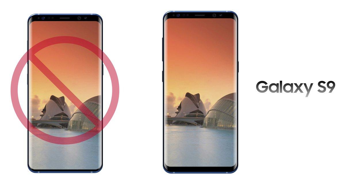 Samsung Galaxy S9: pourrons-nous le différencier du Galaxy S8?