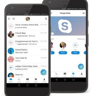 Skype se refait une beauté sur Android et iOS, une bonne fois pour toutes ?