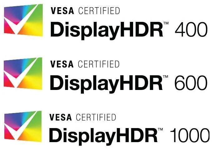 DisplayHDR 400, 600 et 1000 : enfin une certification pour repérer les bons écrans