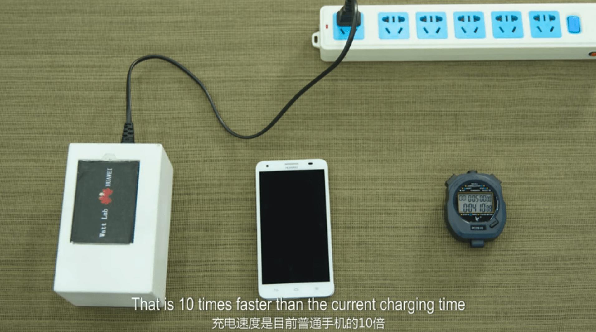Deux ans après, Huawei reparle de sa recharge rapide en 5 minutes : est-elle enfin prête?