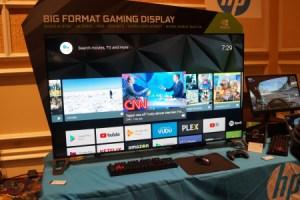HP Omen X 65 : voici l'écran 65 pouces 4K 120 Hz HDR pour les gamers sous Android TV