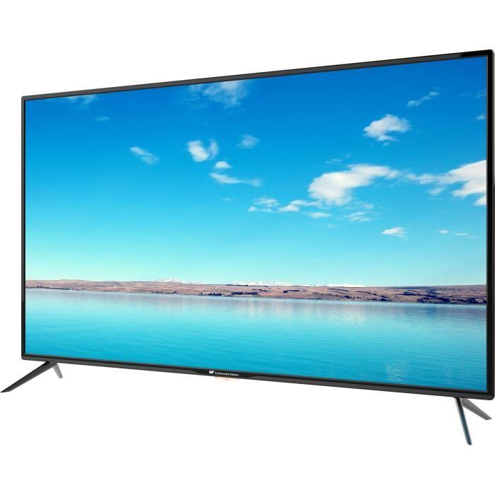 🔥 Soldes : la Continental Edison TV LED 55 pouces UHD 4K est à 299 euros et à 285 euros pour les abonnés CDAV