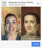 Google Arts & Culture compare les selfies à des œuvres d'art et c'est très drôle