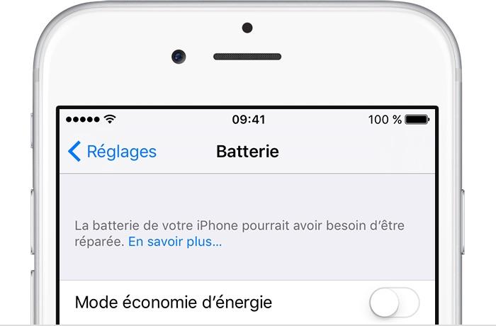 Apple ne posera aucune question si vous voulez changer la batterie de votre iPhone