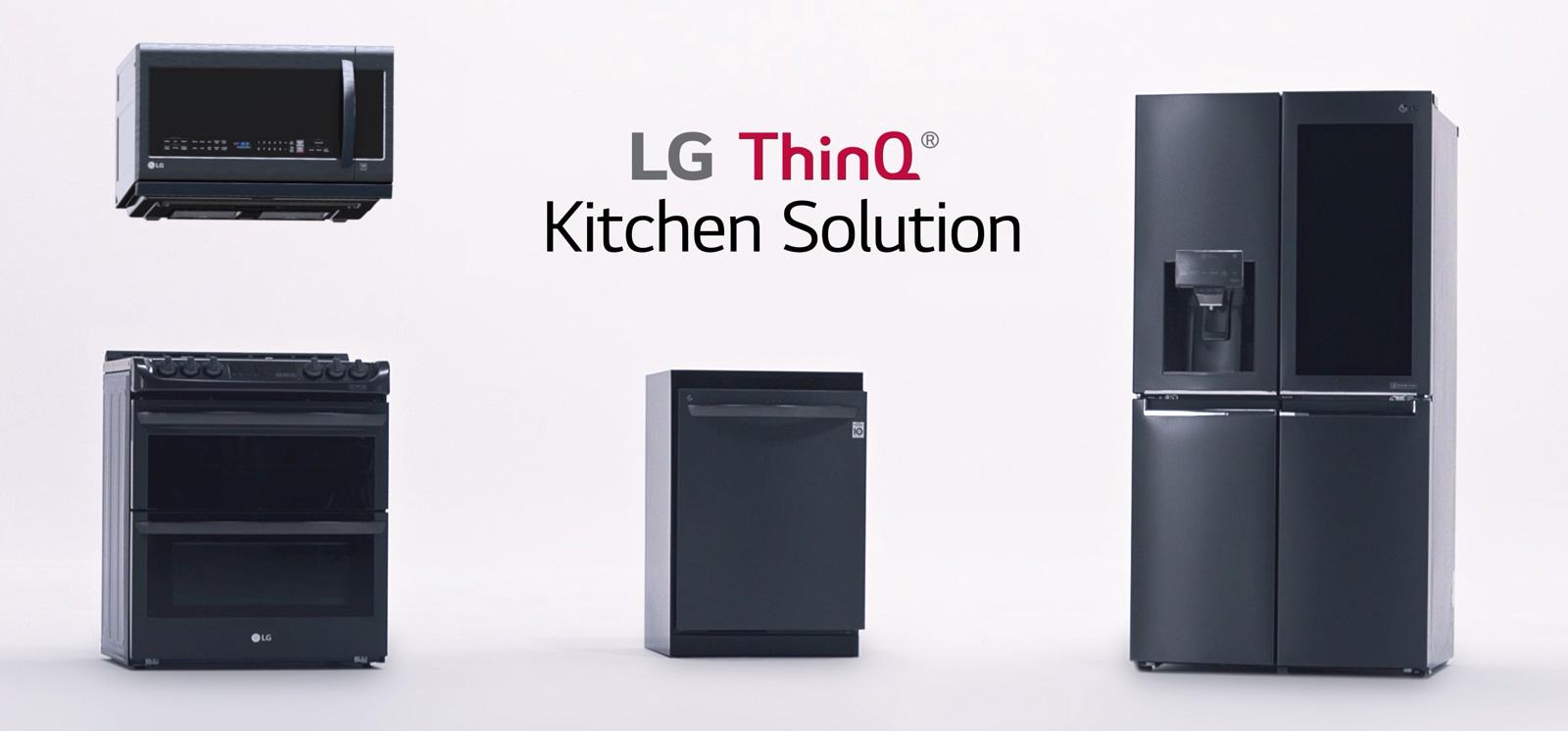 LG ThinQ Kitchen : Alexa connecte votre cuisine, le réfrigérateur envoie des recettes à votre four