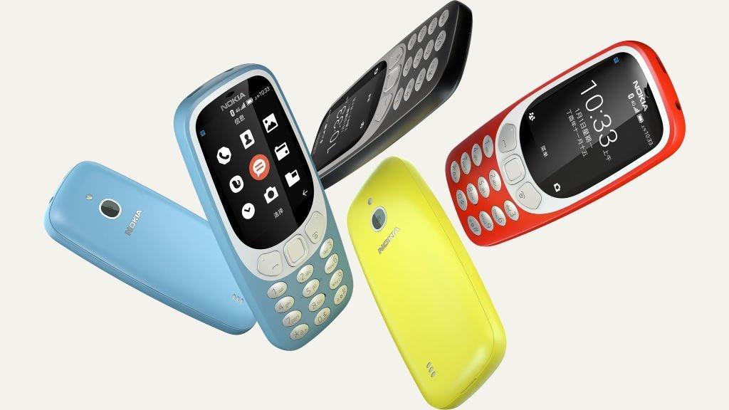 Nokia 3310 4G : sa disponiblité en Europe précisée au MWC 2018
