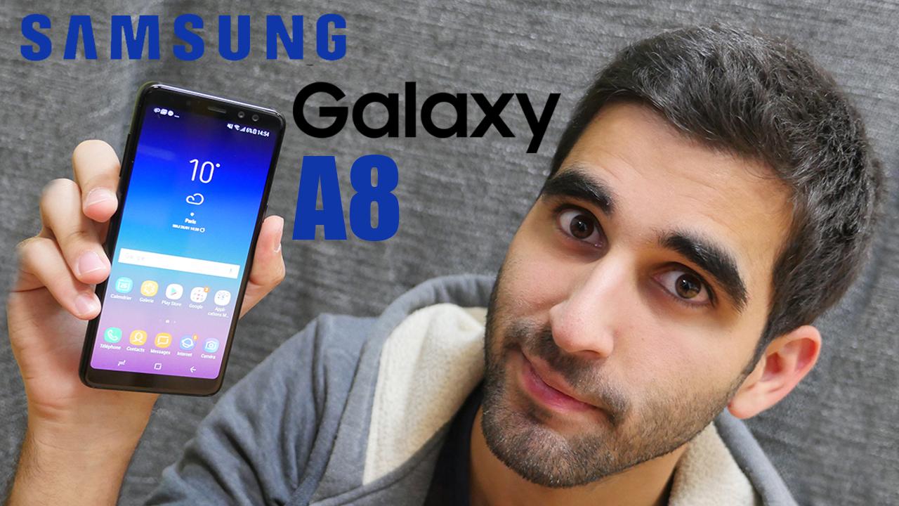 Test du Samsung Galaxy A8 (2018) en vidéo : un faux air de haut de gamme