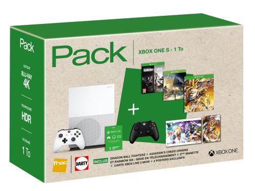 🔥 Bon plan : un pack Xbox One S avec Dragon Ball Fighter Z, deux autres jeux et une manette à 329 euros