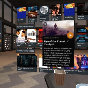 Plex VR : la meilleure application de home cinéma arrive en réalité virtuelle