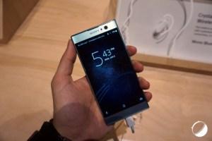 Sony Xperia XA2 et XA2 Ultra: nos photos et premières impressions au CES 2018