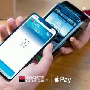 Apple Pay débarque chez la Société Générale
