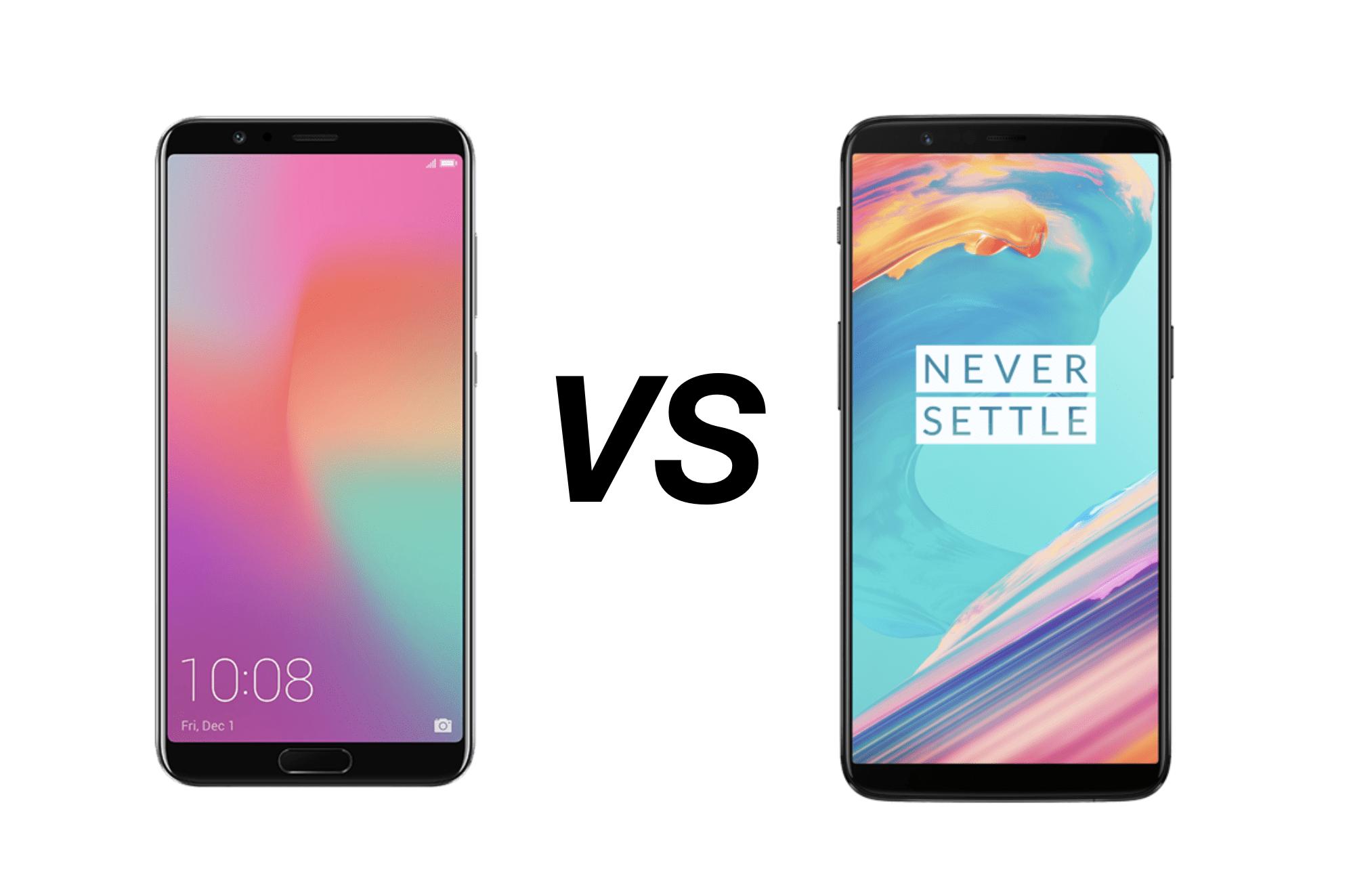 Versus : OnePlus 5T ou Honor View 10, nous vous aidons à faire votre choix