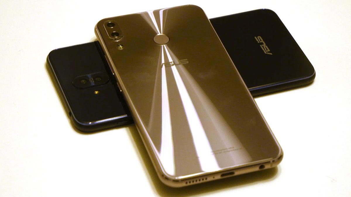 Prise en main des Asus Zenfone 5, 5Z et 5 Lite : l'iPhone X est passé par là et c'est pas plus mal